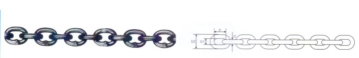 German Standard DIN766 Short Link Chain Thumb 1