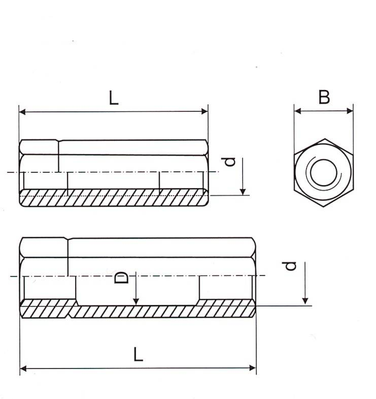 Turnbucke DIN1479 Thumb 1