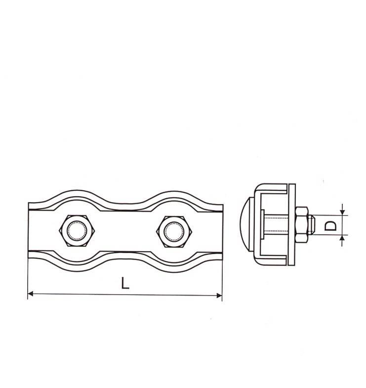 Duplex Wire Rope Clip Thumb 1