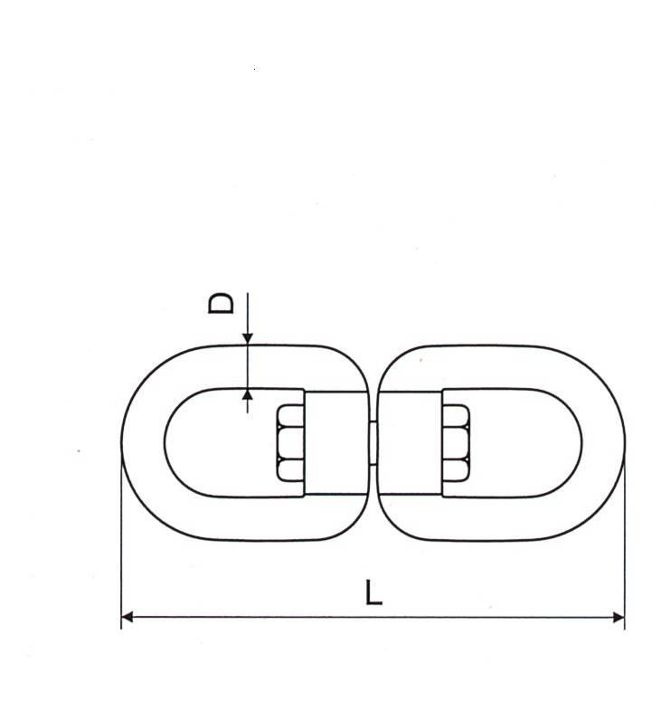 European Type Swivel With Eye And Eye Thumb 1