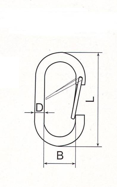 Stainless Steel Egg Shaped Hook Thumb 1