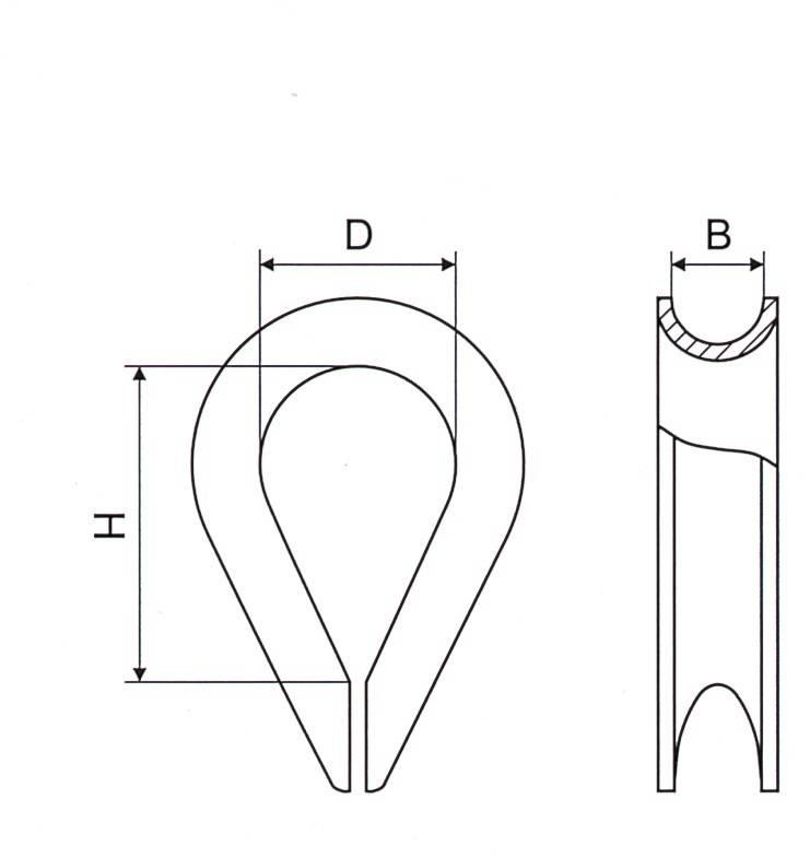 Thimble DIN6899 Form B Thumb 1