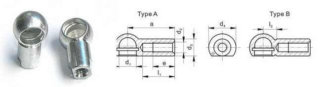Ball Socket DIN 71805 Thumb 1