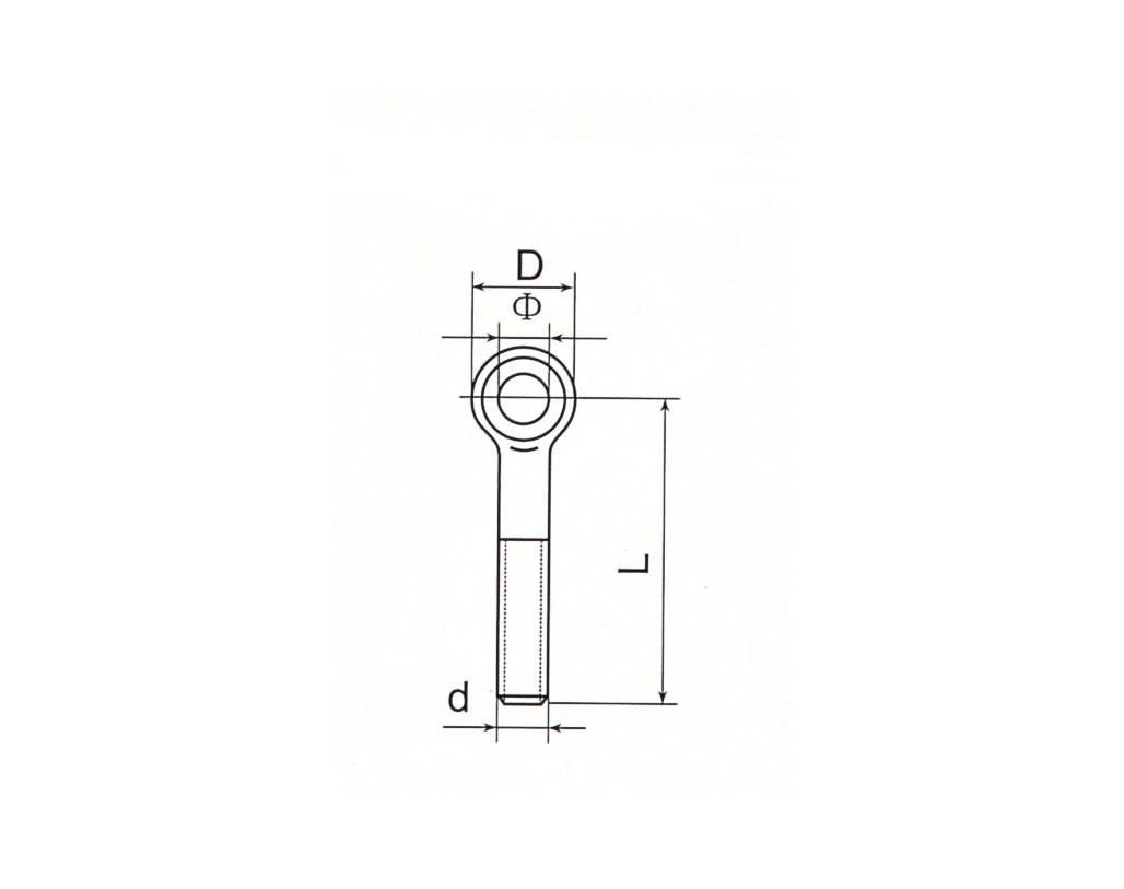 Eye Screw DIN444 Type A and Type B Thumb 1
