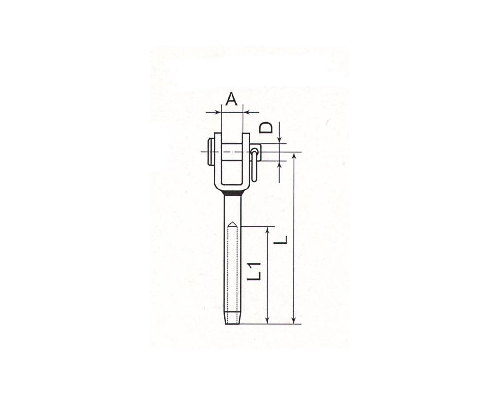 Stainless Steel Fork Terminal Thumb 1